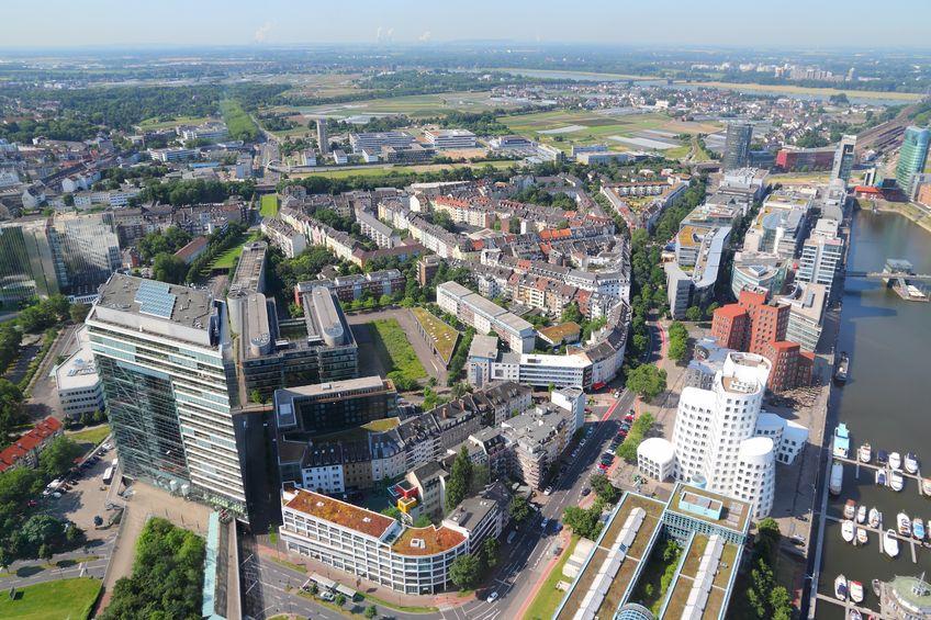 Stadtteil Düsseldorf Hafen
